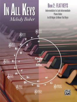 In All Keys, Book 2: Flat Keys: Intermediate to Late Intermediate Pian (AL-00-44145)