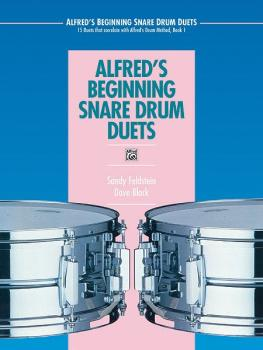 Alfred's Beginning Snare Drum Duets: 15 Duets That Correlate with Alfr (AL-00-4301)