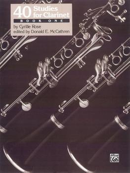 40 Studies for Clarinet, Book 1 (AL-00-EL03457)