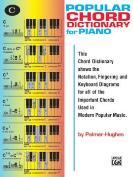 Popular Chord Dictionary for Piano (AL-00-112)