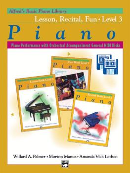 Alfred's Basic Piano Library: GM Disk -- Lesson, Recital & Fun Books,  (AL-00-22395)