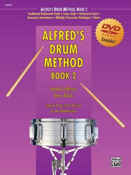 Alfred's Drum Method, Book 2 (AL-00-23204)