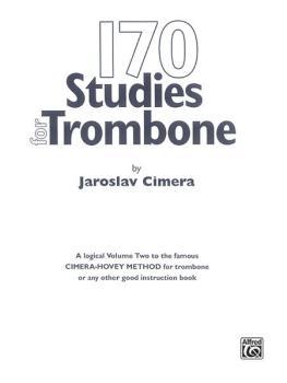 170 Original Studies for Trombone (AL-00-EL00079)