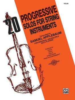 20 Progressive Solos for String Instruments (AL-00-EL02730)