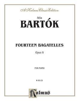 14 Bagatelles, Opus 6 (AL-00-K03123)