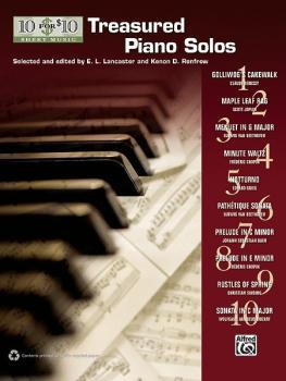 10 for 10 Sheet Music: Treasured Piano Solos (AL-00-37466)