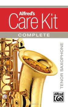 Alfred's Care Kit Complete: Tenor Saxophone (AL-99-1474922)