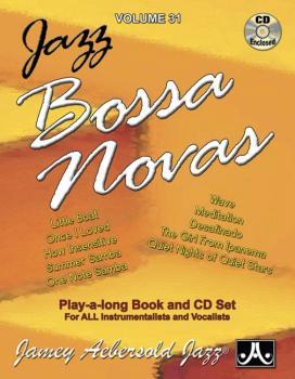 Jamey Aebersold Jazz, Volume 31: Jazz Bossa Novas (AL-24-V31DS)