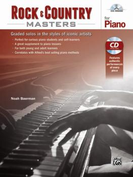 Rock & Country Masters for Piano: Graded Solos in the Styles of Iconic (AL-00-44483)