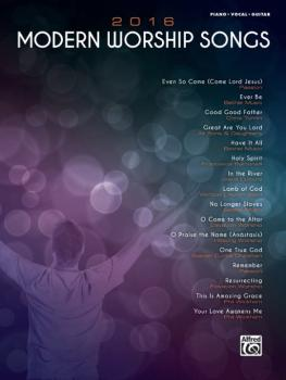 2016 Modern Worship Songs (AL-00-45930)