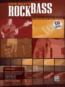 Steve Bailey's Rock Bass: The Ultimate Rock Bass Workout (AL-00-25575)