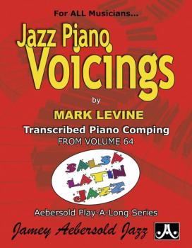 Jazz Piano Voicings (Transcribed Piano Comping from <i>Volume 64 Salsa (AL-24-SLP)
