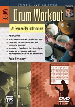 30-Day Drum Workout: An Exercise Plan for Drummers (AL-00-24209)