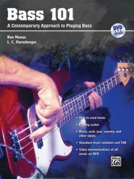 Bass 101: A Contemporary Approach to Playing Bass (AL-00-31832)