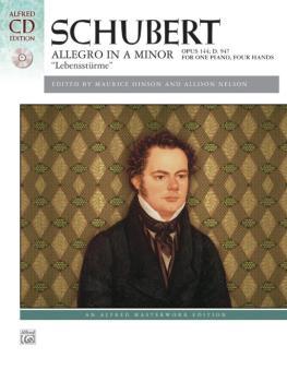 "Allegro in A Minor, Opus 144 (""Lebensstürme"") (AL-00-40322)"