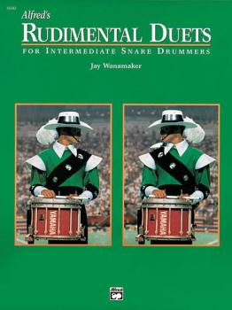 Alfred's Rudimental Duets (For Intermediate Snare Drummers) (AL-00-16582)