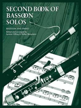 Second Book of Bassoon Solos (AL-12-0571506046)
