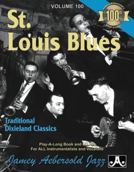 Jamey Aebersold Jazz, Volume 100 : St. Louis Blues: Traditional Dixiel (AL-24-V100DS)