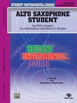 Student Instrumental Course: Alto Saxophone Student, Level III (AL-00-BIC00331A)