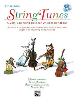 StringTunes: A Very Beginning Solo (or Unison) Songbook: 36 Songs in P (AL-00-EL03987CD)