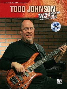 Todd Johnson Walking Bass Line Module System, Volume 2: Scale Modules (AL-00-30025)