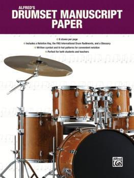 Alfred's Drumset Manuscript Paper (AL-00-44964)