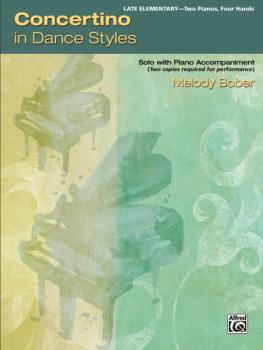 Concertino in Dance Styles: Solo with Piano Accompaniment (AL-00-46051)