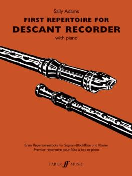 First Repertoire for Descant Recorder (with Piano) (AL-12-0571523285)