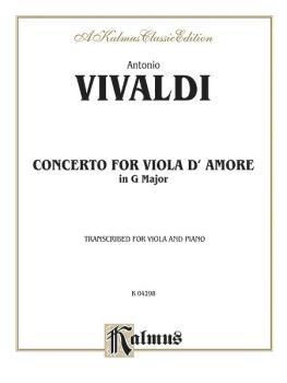Concerto for Viola d'Amore (AL-00-K04298)