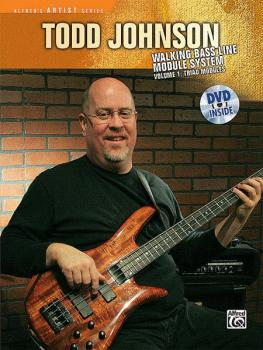 Todd Johnson Walking Bass Line Module System, Volume 1: Triad Modules (AL-00-30019)