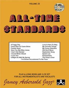 Jamey Aebersold Jazz, Volume 25: All-Time Standards (AL-24-V25DS)