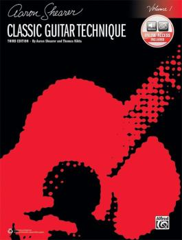 Classic Guitar Technique, Volume 1 (Third Edition) (AL-00-45293)