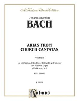 Arias from Church Cantatas, Volume II (4 Duets): Duets for Soprano and (AL-00-K06823)