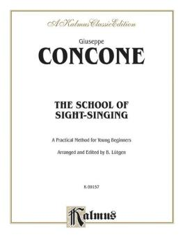 The School of Sight-Singing: Practical Method for Young Beginners (Lut (AL-00-K09157)