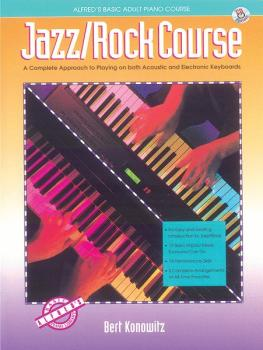 Alfred's Basic Adult Jazz/Rock Course (AL-00-14520)