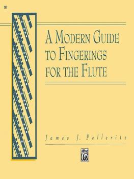A Modern Guide to Fingerings for the Flute (AL-00-2887)