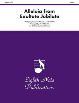 Alleluia (from <i>Exultate Jubilate</i>) (AL-81-CC2126)