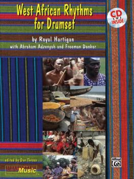 West-African Rhythms for Drumset (AL-00-MMBK0057CD)