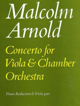 Concerto for Viola: Piano Reduction and Viola Part (AL-12-0571505678)