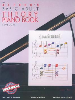 Alfred's Basic Adult Piano Course: Theory Book 1 (AL-00-2462)