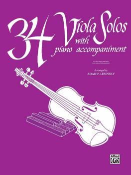 34 Viola Solos (AL-00-EL00236)