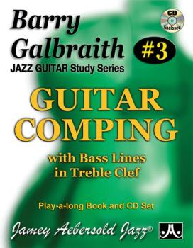 Barry Galbraith Jazz Guitar Study Series #3: Guitar Comping (With Bass (AL-24-BG3)