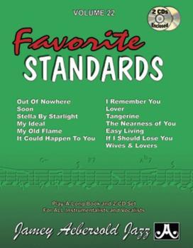 Jamey Aebersold Jazz, Volume 22: Favorite Standards (AL-24-V22DS)