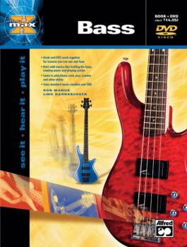 Alfred's MAX™ Bass: See It * Hear It * Play It (AL-00-22653)