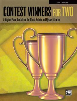 Contest Winners for Two, Book 1: 7 Original Piano Duets from the Alfre (AL-00-42270)