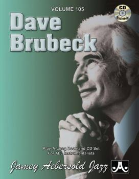 Jamey Aebersold Jazz, Volume 105: Dave Brubeck (AL-24-V105DS)