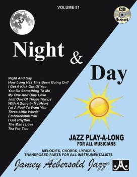 Jamey Aebersold Jazz, Volume 51: Night & Day (AL-24-V51DS)