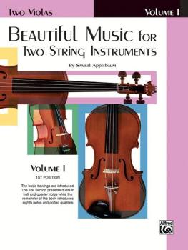 Beautiful Music for Two String Instruments, Book I (AL-00-EL02200)