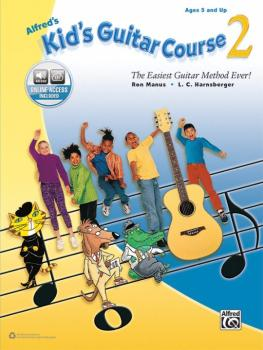 Alfred's Kid's Guitar Course 2: The Easiest Guitar Method Ever! (AL-00-44740)