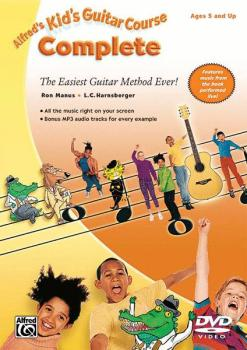 Alfred's Kid's Guitar Course Complete: The Easiest Guitar Method Ever! (AL-00-32141)